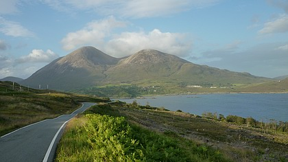 Red Cuillins from road to Elgol