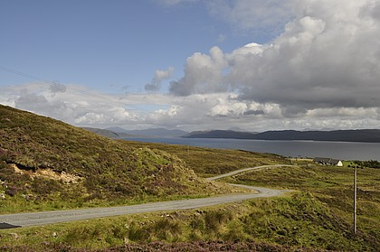 The road over to Glasnakille from Elgol