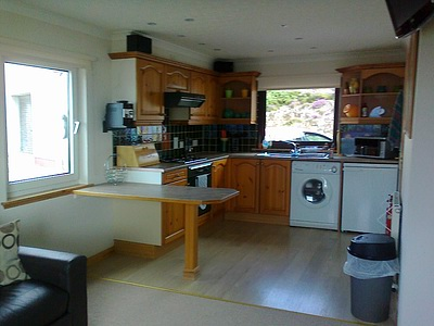 Pier House Self Catering Holiday Cottage Apartment for 2 in Elgol, Isle of Skye - the kitchen