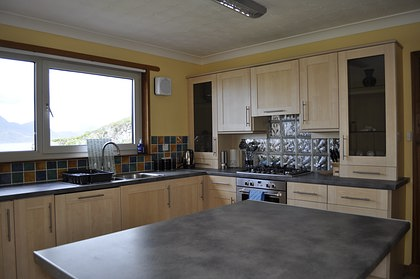 Pier House Self Catering Holiday Cottage Accomodation Elgol - the kitchen